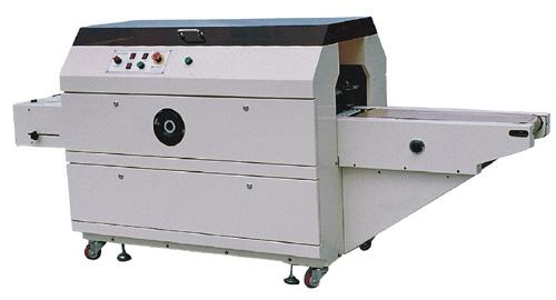 Selladora envolvedora automática de bandejas con film stretch