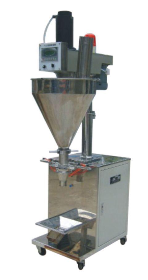 Dosificadora automática con tornillo para polvo