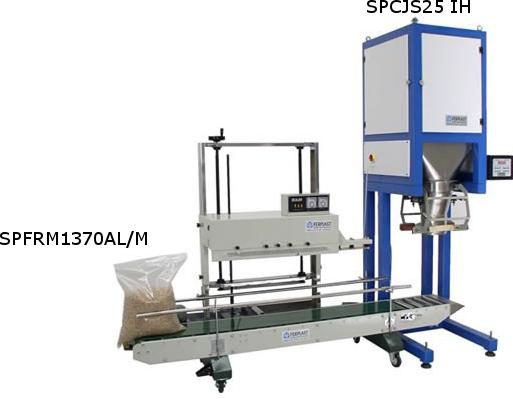 Dosificadora pesadora automática para granos