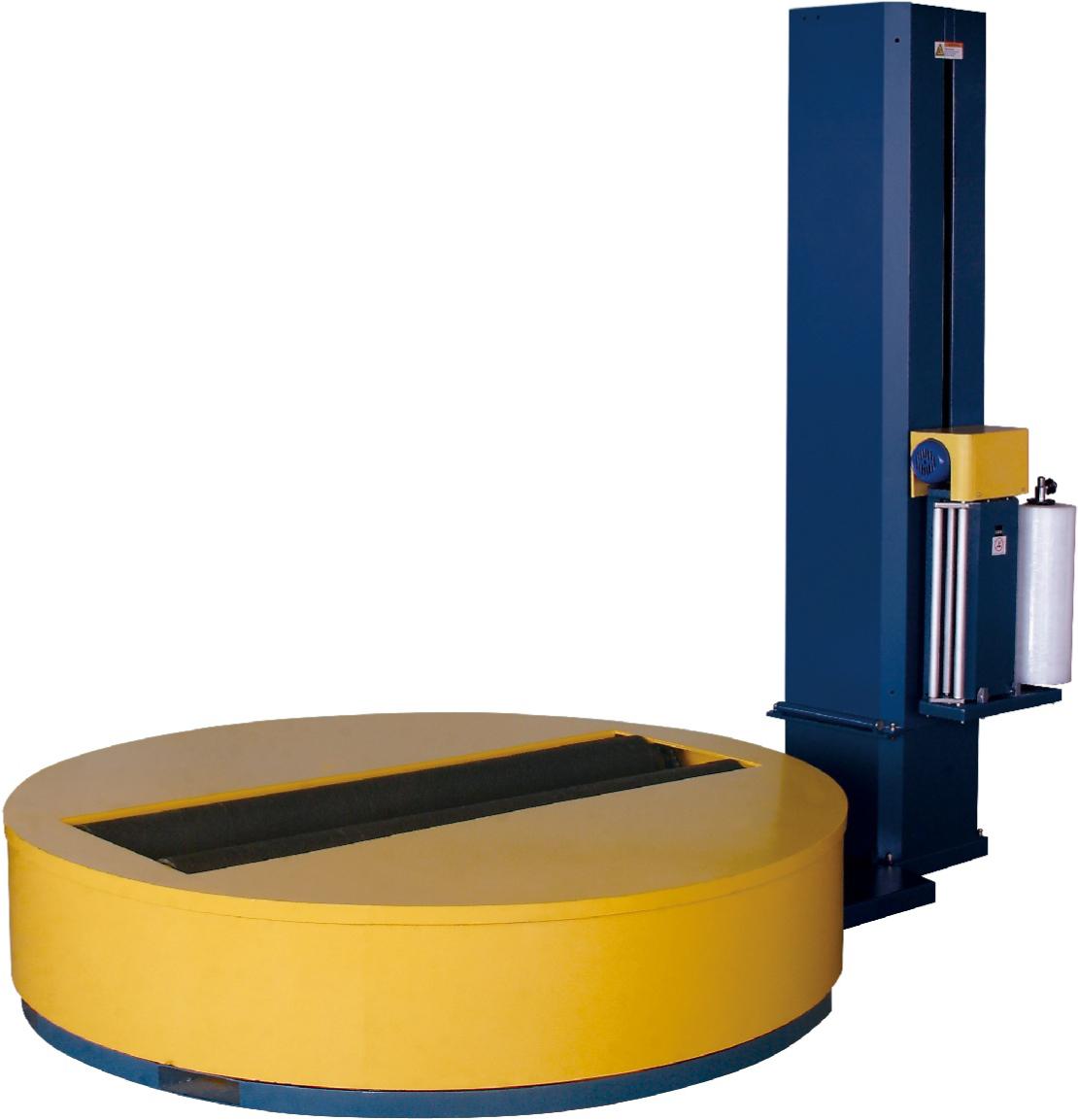 Envolvedora giratoria de palets con pre-estirado